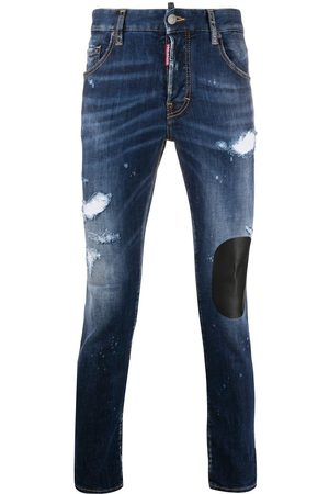 Dsquared2 Skinny jeans con motivo patchwork