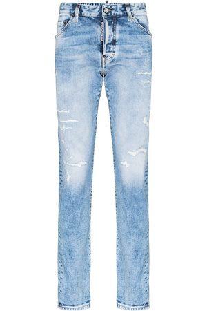 Dsquared2 Jeans rectos con efecto envejecido