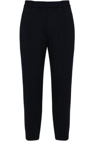 Armani Pantalones De Sarga De Jersey