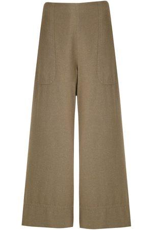 OSKLEN Pantalones capri anchos