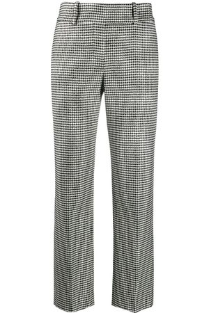 ERMANNO SCERVINO Hounds tooth print trousers