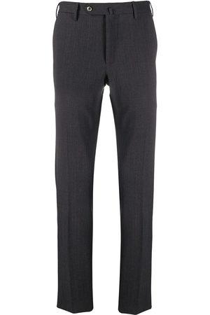 PT01 Pantalones slim con cierre oculto