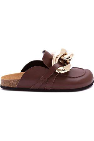 J.W.Anderson Mujer Tenis - Zapatos slip-on con cadena gigante