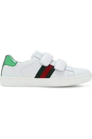 "Gucci Sneakers ""new Ace"" De Piel"
