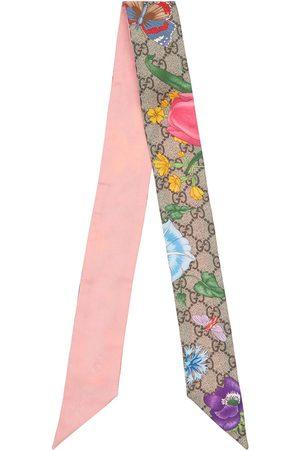 Gucci Foulard De Seda Estampado Floral