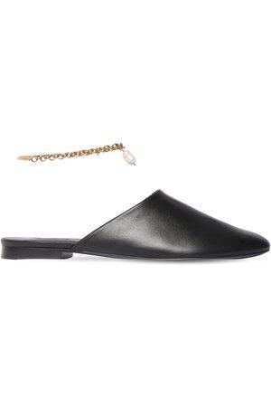 MAGDA BUTRYM Zapatos Mules De Piel 10mm