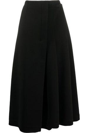 Marni Asymmetric pleated midi-skirt