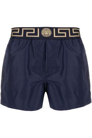 VERSACE Shorts de playa con logo