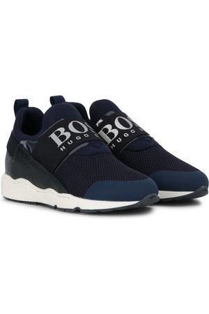 HUGO BOSS Logo band slip-on sneakers