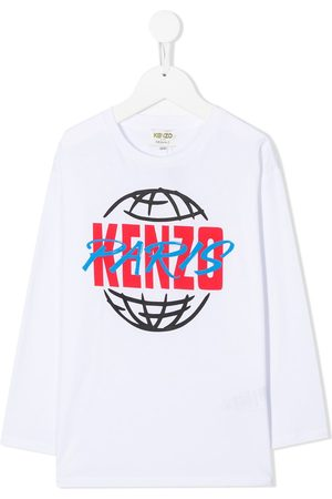 Kenzo Graphic-print crew neck top