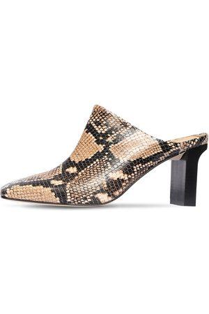 """Aeyde Mujer Tacones - Zapatos """"edith"""" De Piel Estampado Serpiente 75mm"""