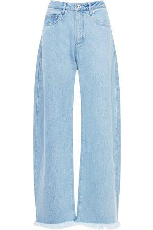 MARQUES'ALMEIDA Mujer De cintura alta - Jeans Denim De Algodón De Cintura Alta