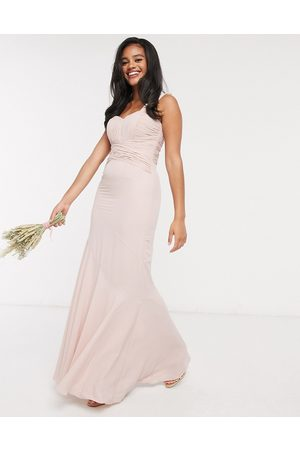ASOS Mujer Vestidos de noche - Bridesmaid pleated bodice maxi dress