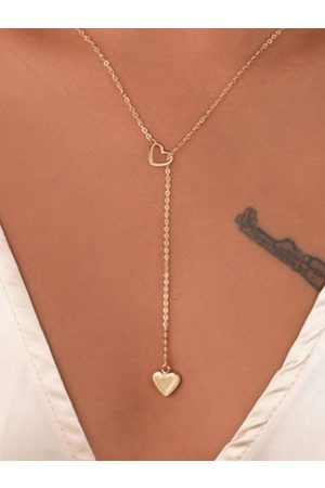 YOINS Mujer Collares - Heart Love Shaped Adjustable Necklaces
