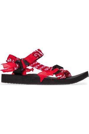 Arizona Love Red Trekky bandana sandals