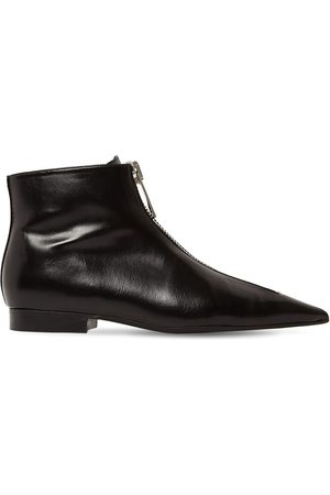 Stella McCartney Mujer Botines - 20mm Zipit Faux Leather Ankle Boots