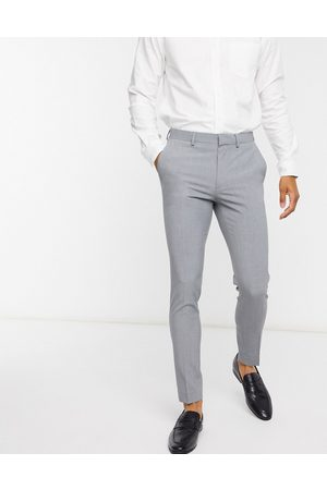 ASOS Super skinny smart trousers in grey