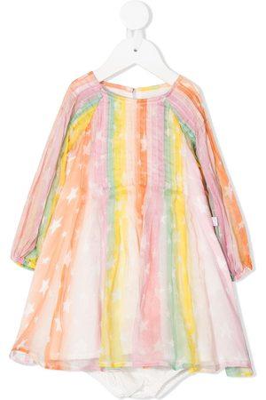 Stella McCartney Vestido con estampado de estrellas