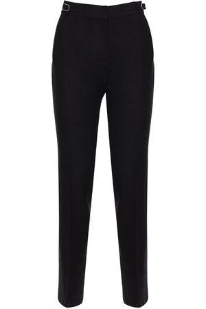 GABRIELA HEARST Pantalones Rectos Con Cintura Alta