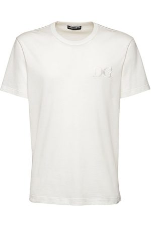 Dolce & Gabbana Camiseta De Jersey De Algodón Bordada
