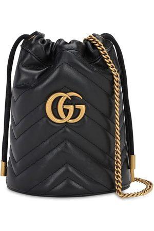 """Gucci Bolso Mini """"gg Marmont 2.0"""" De Piel"""