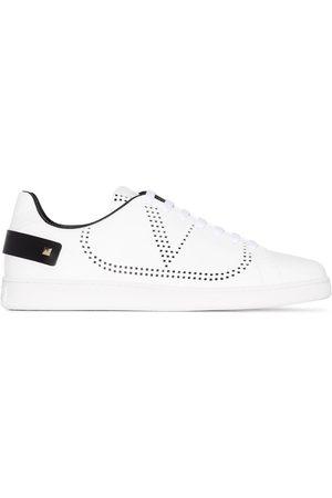 VALENTINO GARAVANI White Sole leather sneakers