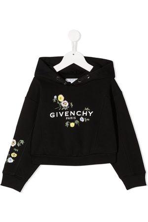 Givenchy Sudadera con logo y motivo floral