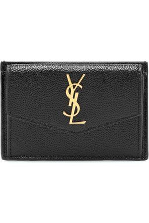Saint Laurent Mujer Carteras y Monederos - Uptown leather card case