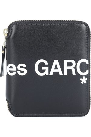 Comme des Garçons Huge Logo Medium leather wallet