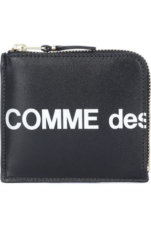 Comme des Garçons Huge Logo Small leather wallet