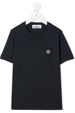 Stone Island Camiseta con parche del logo
