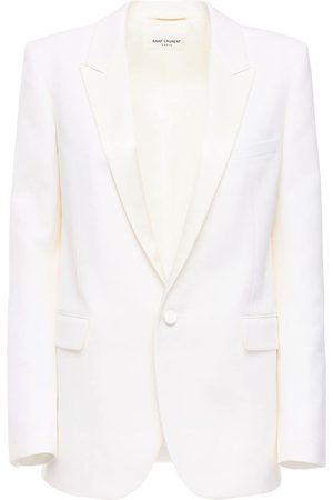 Saint Laurent Wool Single Breast Jacket