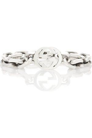 Gucci Interlocking G silver bracelet