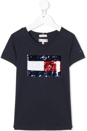 Tommy Hilfiger Camiseta con detalles de lentejuelas