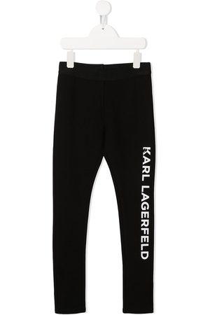 Karl Lagerfeld Leggins con logo estampado