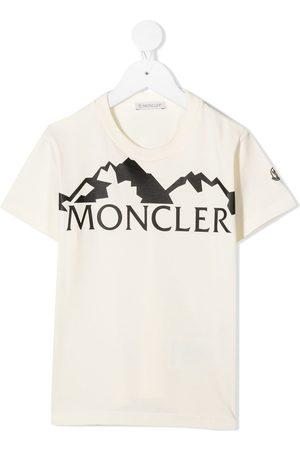 Moncler Flocked logo graphic T-shirt