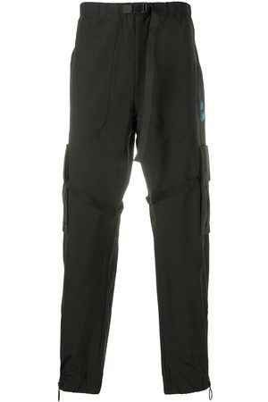 OFF-WHITE OFFF NYLON CARGO PANT BLACK WHITE