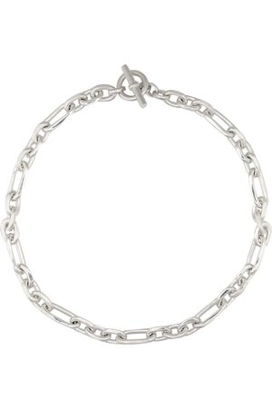 Tilly Sveaas Sterling silver-plated watch chain necklace