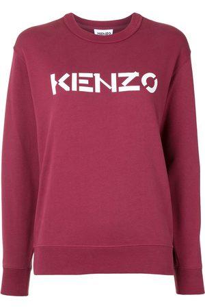 Kenzo Mujer Sudaderas - Sudadera con cuello redondo y logo