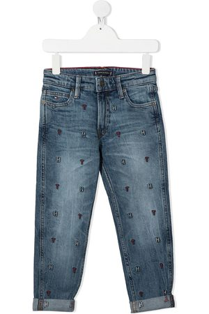 Tommy Hilfiger Embroidered logo straight jeans