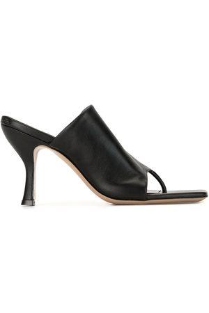 Gia Borghini Mules estilo flip flops