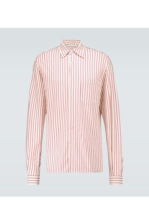 Marni Striped jersey shirt