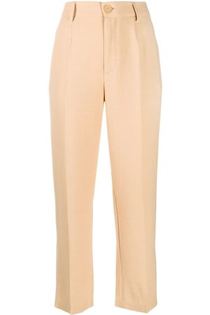 FORTE FORTE High waisted straight leg trousers