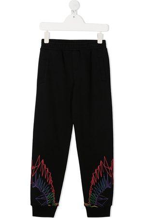 MARCELO BURLON Wings print track pants
