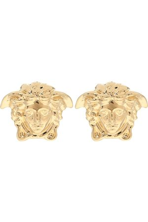 VERSACE Medusa gold-plated earrings