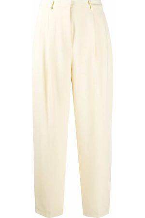 Tory Burch Pantalones de vestir con tiro alto