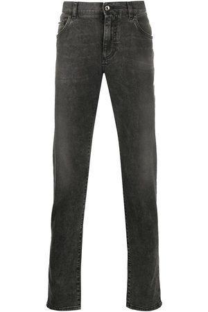 Dolce & Gabbana Lightly distressed slim jeans