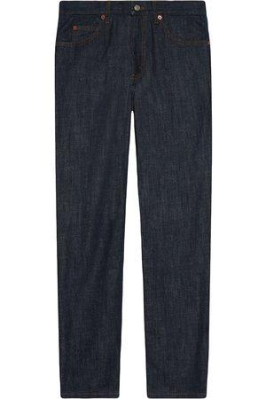 Gucci Jeans rectos con diseño de cinco bolsillos