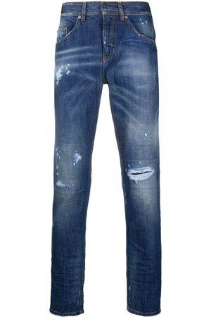 Neil Barrett Hombre Rectos - Jeans rectos con detalles rasgados