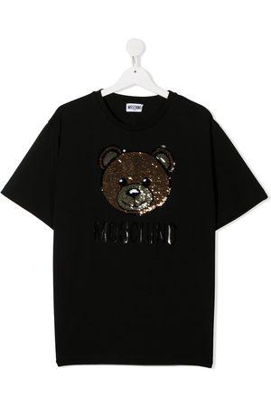 Moschino Sequin bear T-shirt
